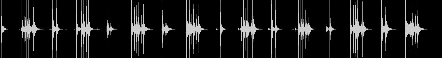 三味線134切な系メロディー演歌ポップスの未再生の波形