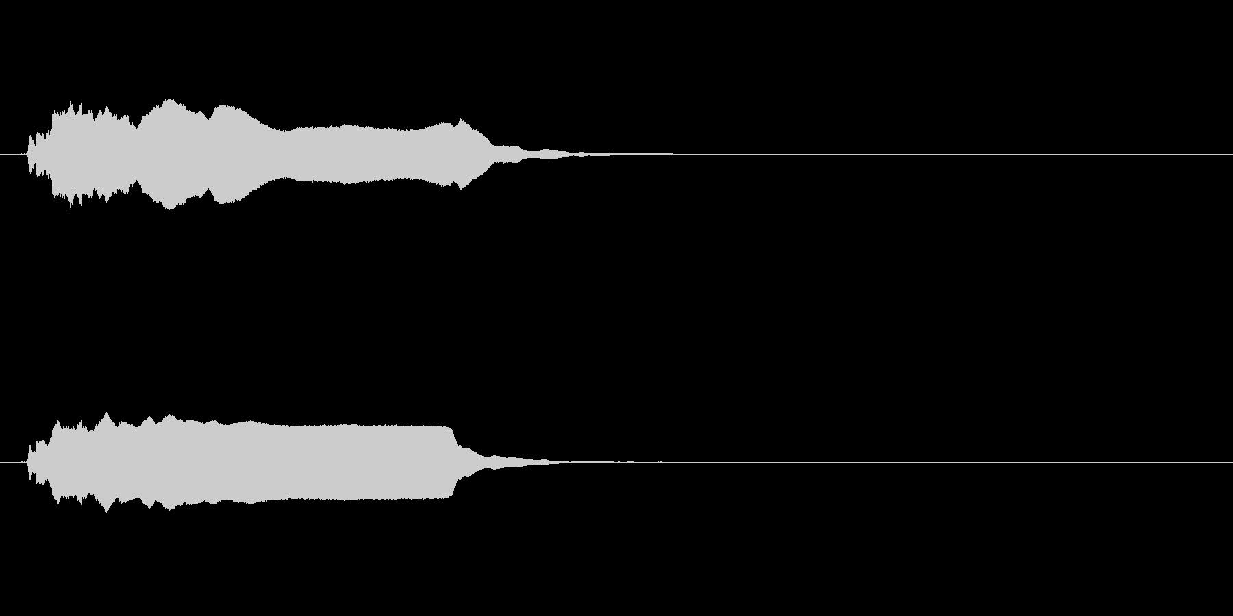 インテリア:シングルブラスト、ロン...の未再生の波形