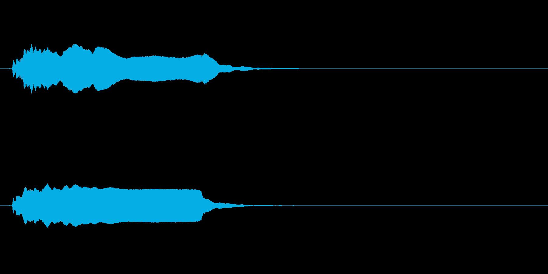 インテリア:シングルブラスト、ロン...の再生済みの波形