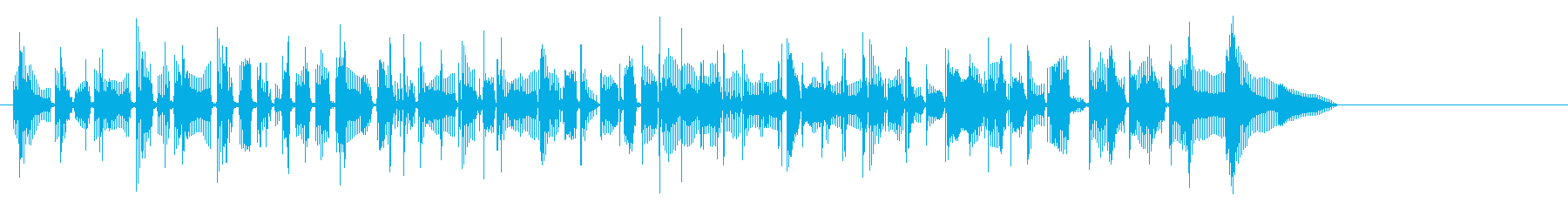 マウンテンミュージック、パーカッシ...の再生済みの波形
