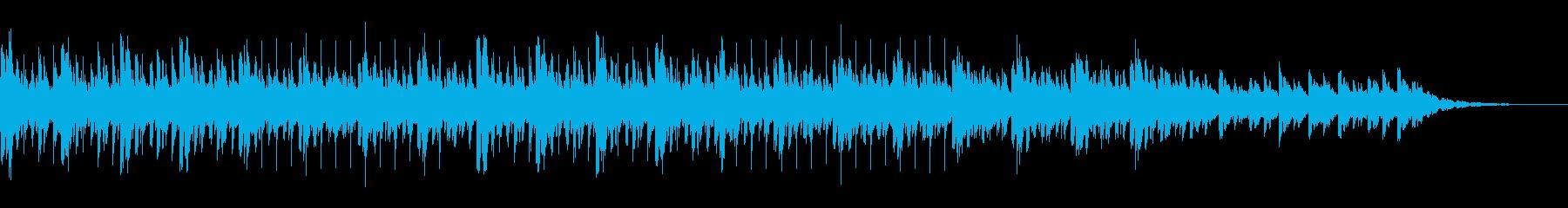 ハッピーゴーラッキー、気まぐれな曲...の再生済みの波形