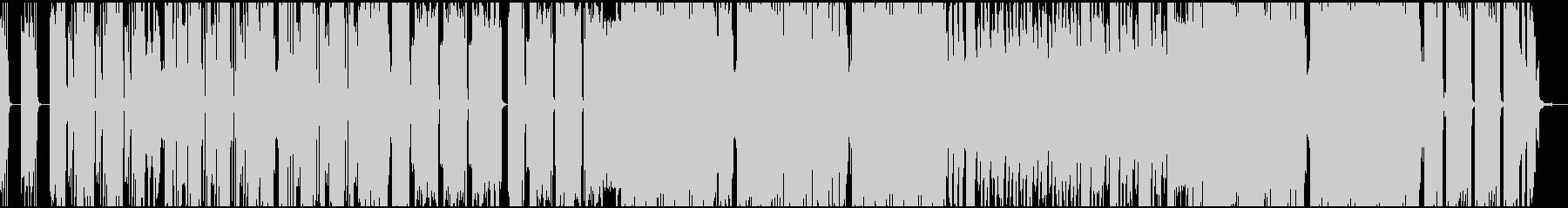 ダブステップでテンションの上がる曲の未再生の波形