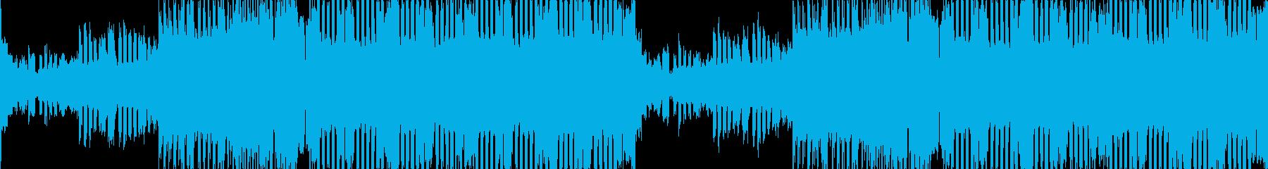 エキサイティングEDM情熱的オープニングの再生済みの波形