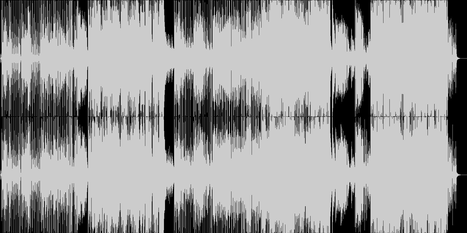 【生演奏】ピアノ旋律が印象的なポップスの未再生の波形