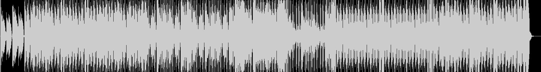 大人な雰囲気のジャジーBGM1の未再生の波形