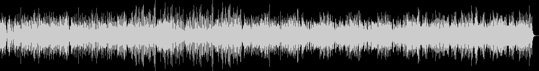 愉快なピアノのパイナップル・ラグタイムの未再生の波形