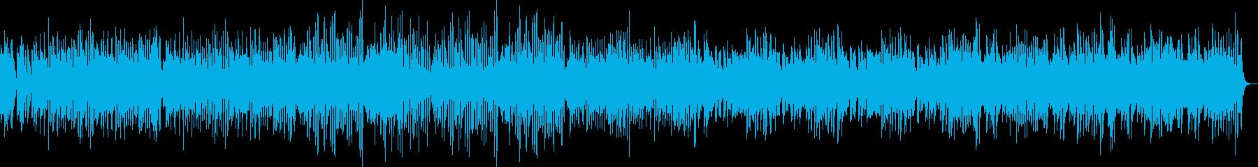 愉快なピアノのパイナップル・ラグタイムの再生済みの波形