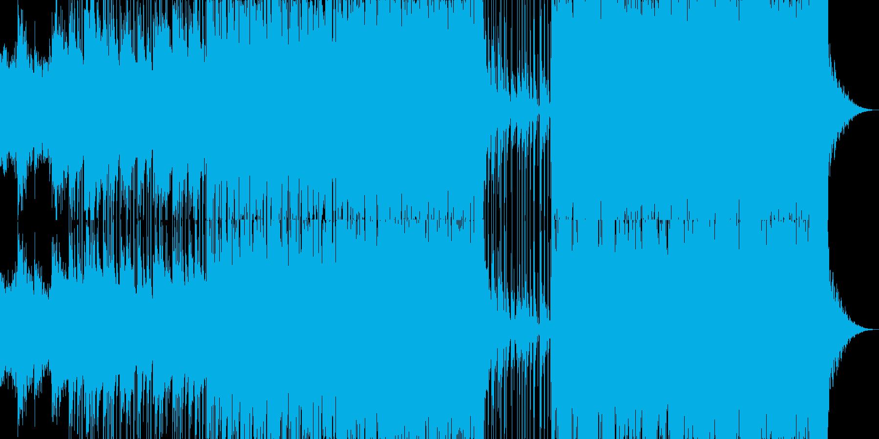 きれいな音色の幻想的なエレクトロニカの再生済みの波形