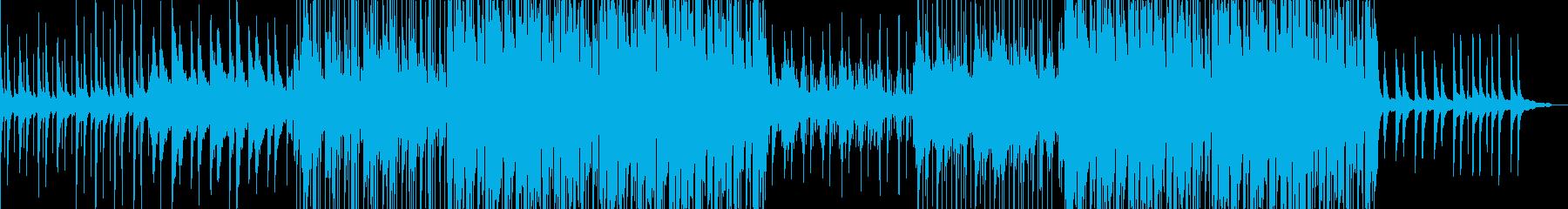 情緒的なアコースティックポップスの再生済みの波形