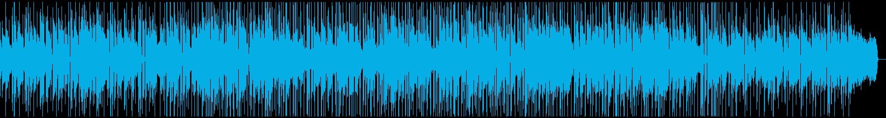 軽快でオシャレなスムースジャズの再生済みの波形