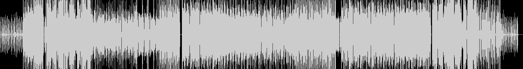 フューチャー風なポップス(メロディなし)の未再生の波形