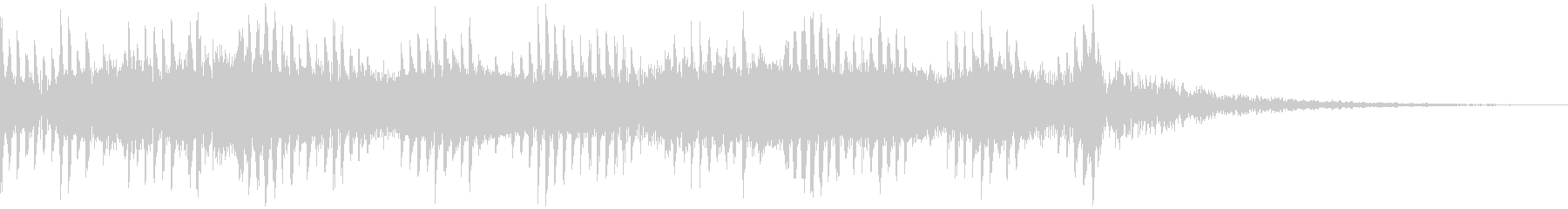 クイズのシンキングタイムBGMの未再生の波形