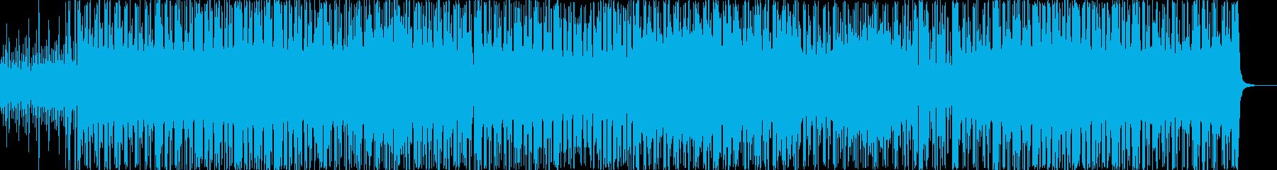 おしゃれでジャジーな雰囲気のインストの再生済みの波形