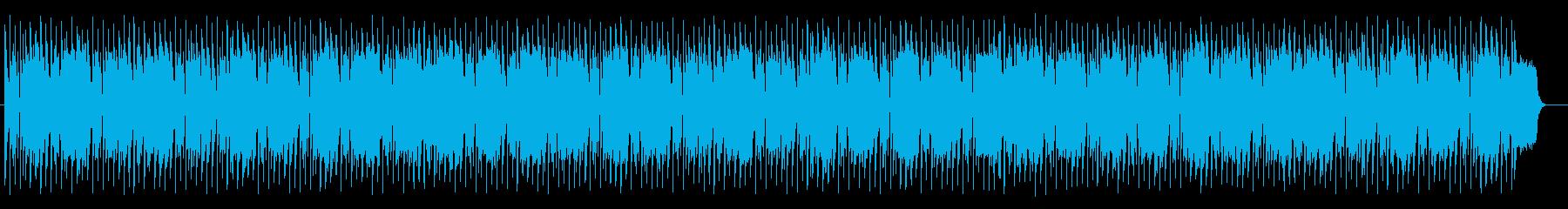 爽やかでポップなリフレインミュージックの再生済みの波形