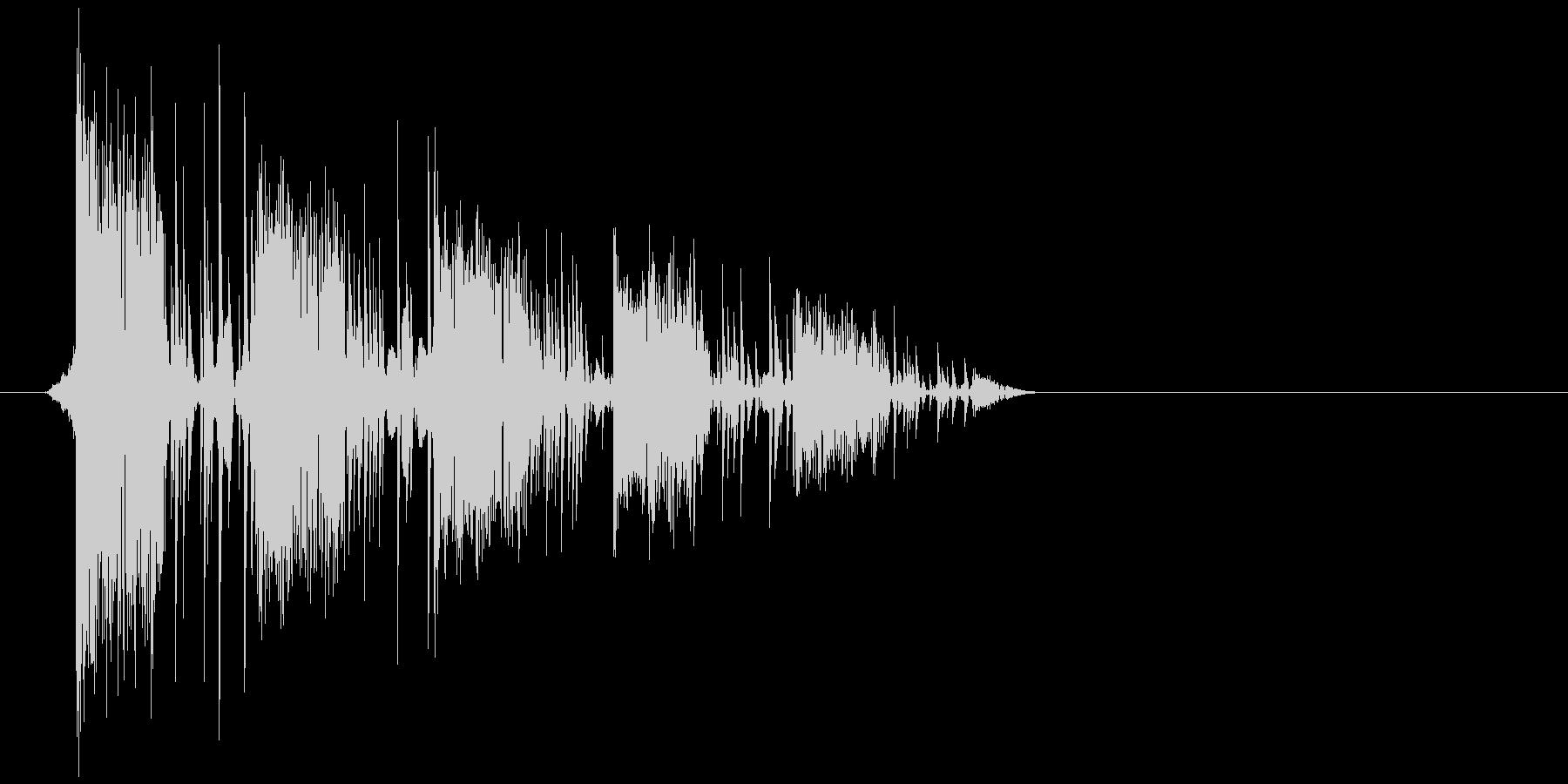 ゲーム(ファミコン風)爆発音_029の未再生の波形