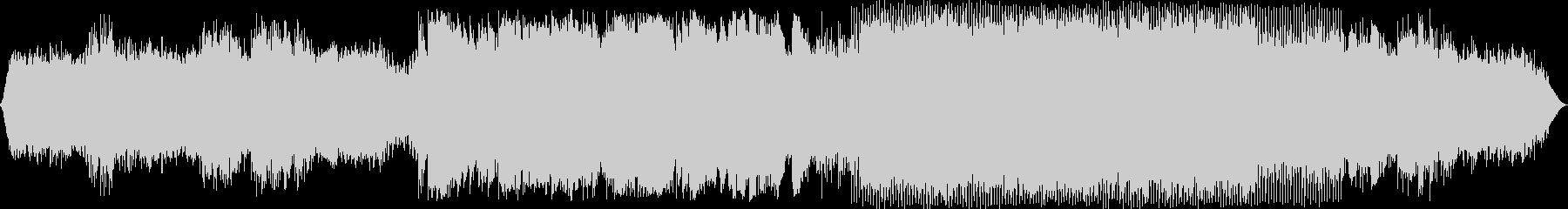 エレクトロニック 説明的 静か ク...の未再生の波形