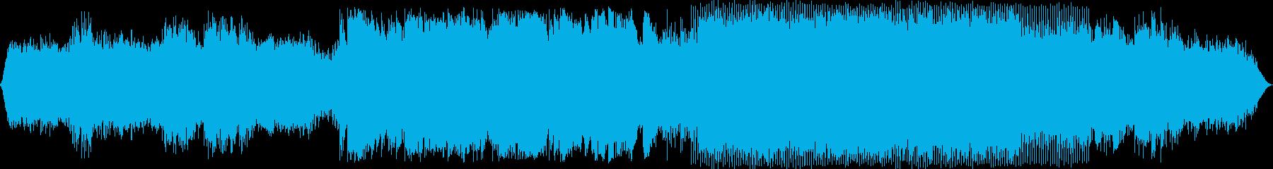 エレクトロニック 説明的 静か ク...の再生済みの波形