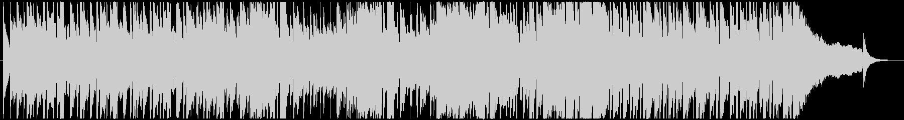 60年代風のローファイなピアノロックの未再生の波形