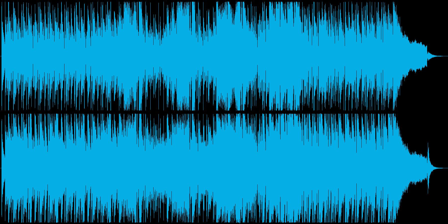 60年代風のローファイなピアノロックの再生済みの波形