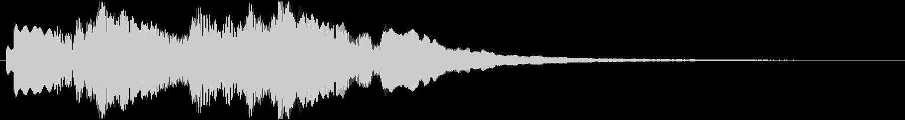 ジングル用途に制作しました。エレピです…の未再生の波形
