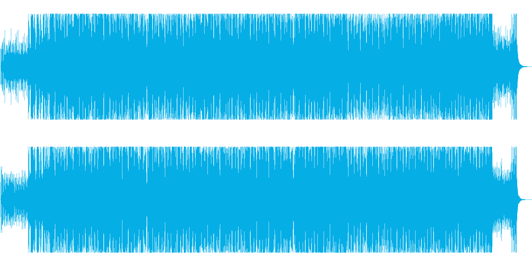 和風・二胡・ピアノ・ハウス・ファンキーの再生済みの波形