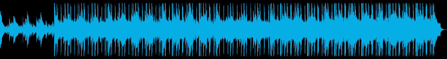 人気のある電子機器 R&B 感情的...の再生済みの波形