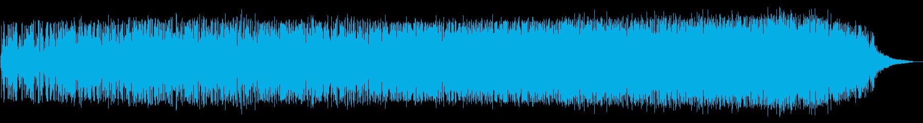 ブオーン(宇宙船の離陸音)の再生済みの波形