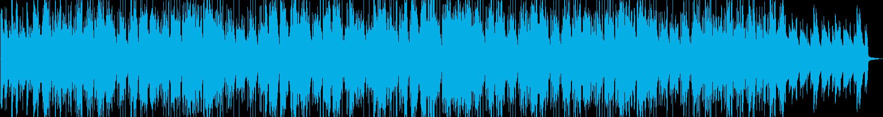 ムーディーなサックスとトランペットのんの再生済みの波形