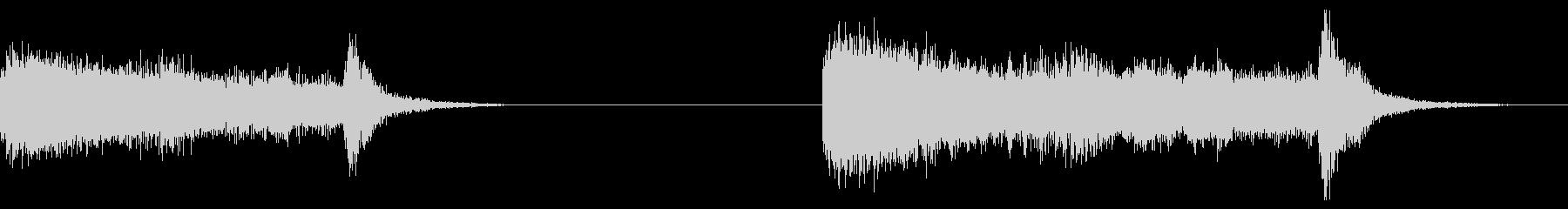 オーケストラエンディング、2バージ...の未再生の波形