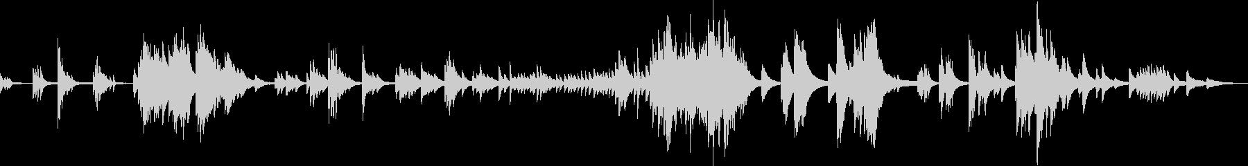運命の螺旋(ピアノソロ・悲しい・切ない)の未再生の波形