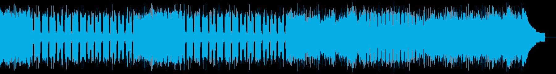 カントリー風ロックギター01Gの再生済みの波形