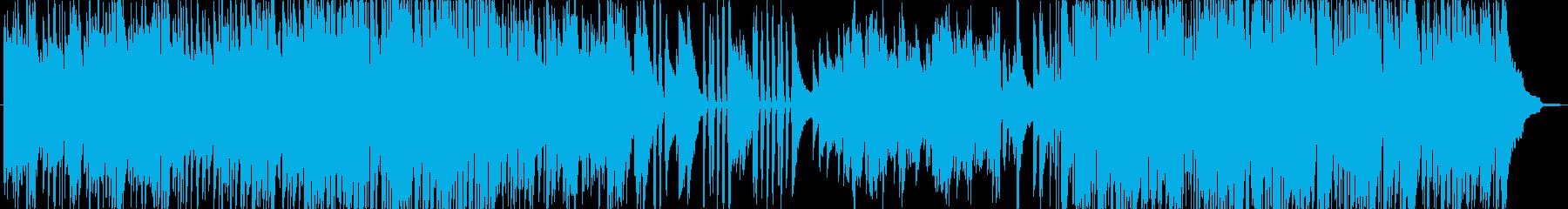 穏やかで軽快なアコーディオンアンサンブルの再生済みの波形