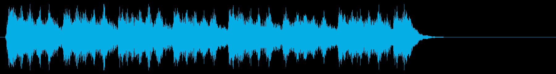 秋、切ないオーケストラのジングルの再生済みの波形