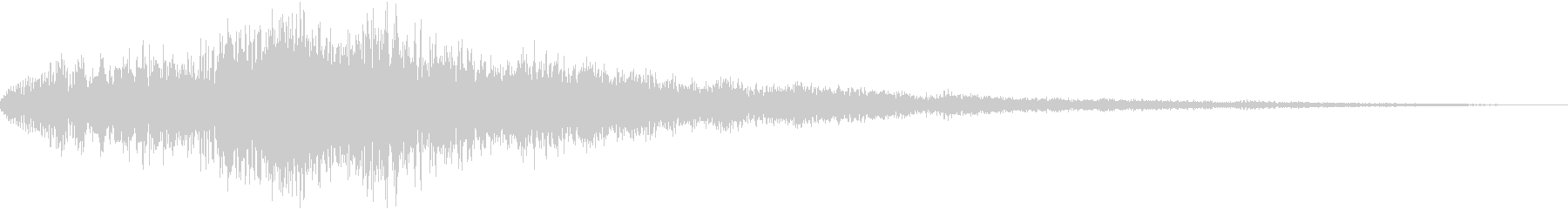 RPG等の勝利ファンファーレの音の未再生の波形