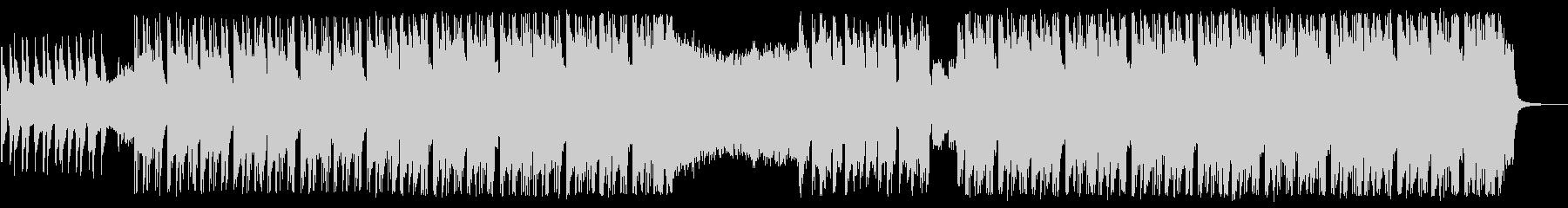 エレクトロ×ギターのハイブリッドロックの未再生の波形