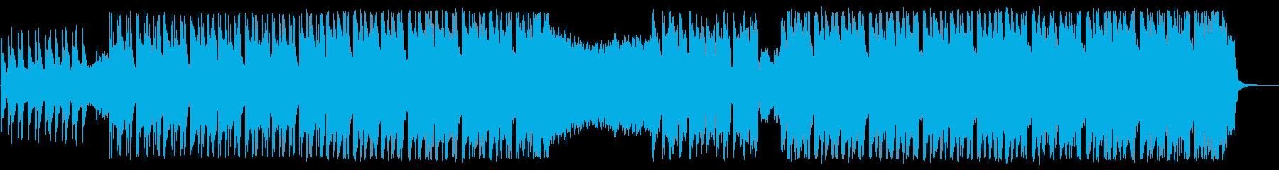エレクトロ×ギターのハイブリッドロックの再生済みの波形