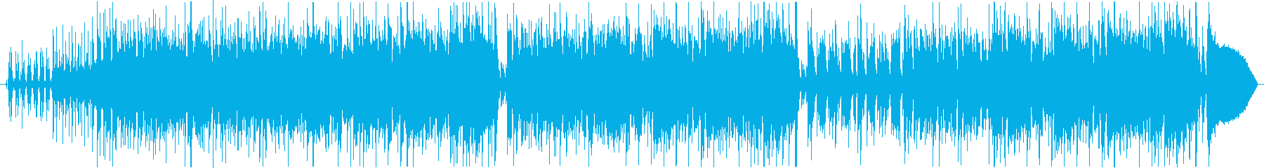 陽気なカントリー風ミュージックの再生済みの波形