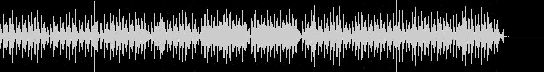 コミカルなシーン/劇伴の未再生の波形