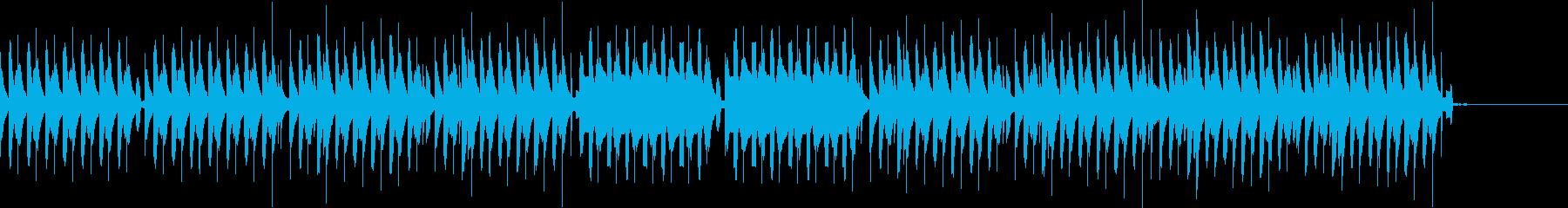 コミカルなシーン/劇伴の再生済みの波形