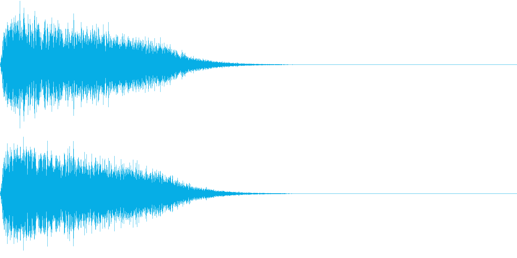 キュイン ボタン ピキーン キーン 16の再生済みの波形