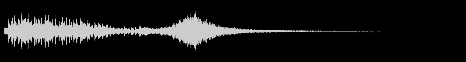 優雅な和風サウンド 琴のトレモロ+FXの未再生の波形