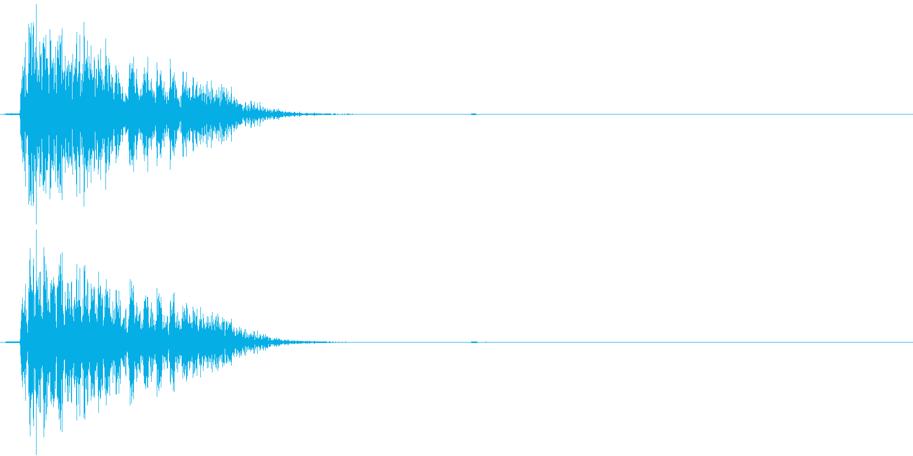 【生録音】 オフィスチェアのきしみ 3の再生済みの波形