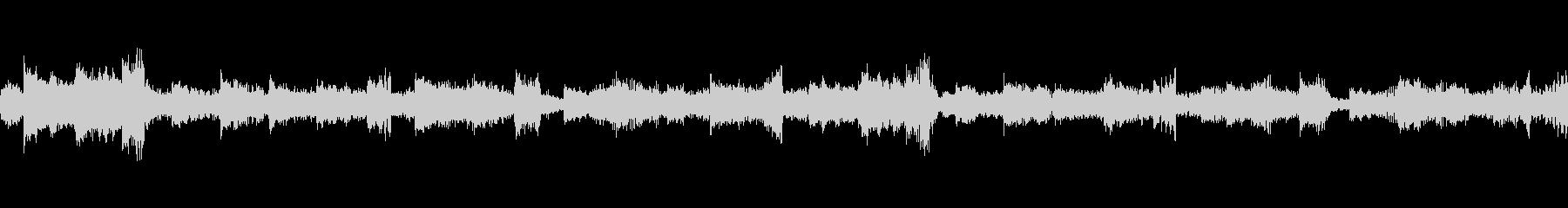 アコースティックギターLOOPの未再生の波形