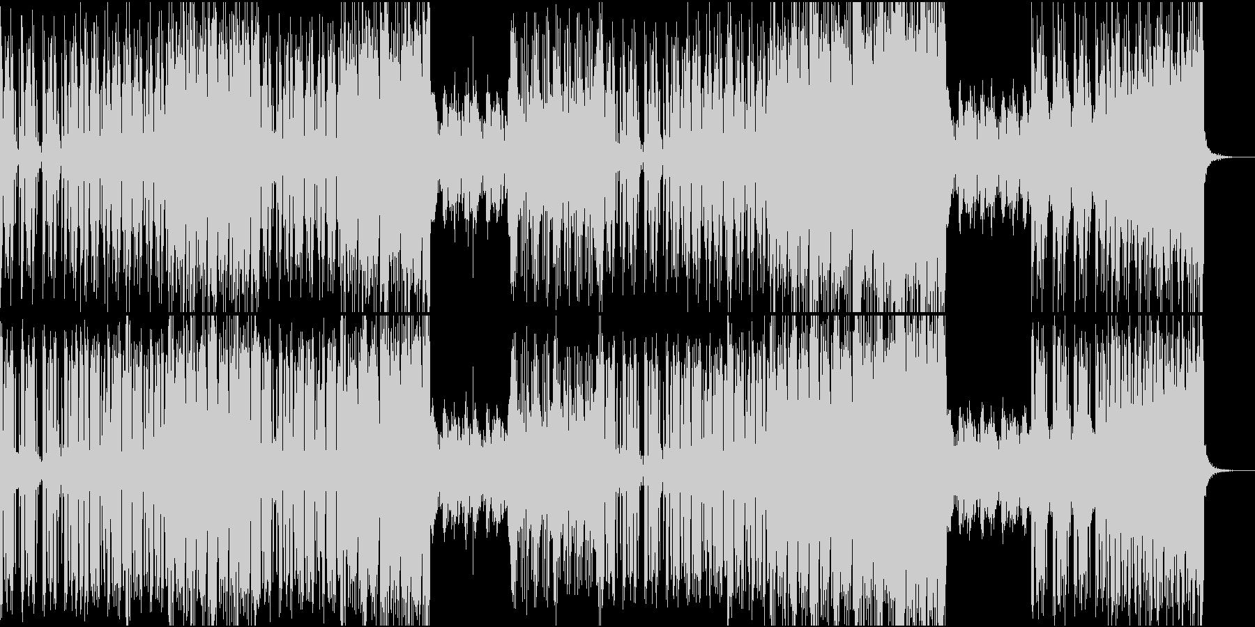 darkwave electroの未再生の波形