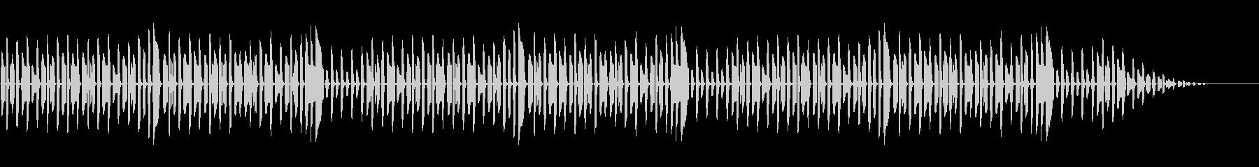 童謡「もみじ」脱力系アレンジの未再生の波形