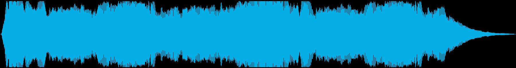ドローン エスニック01の再生済みの波形