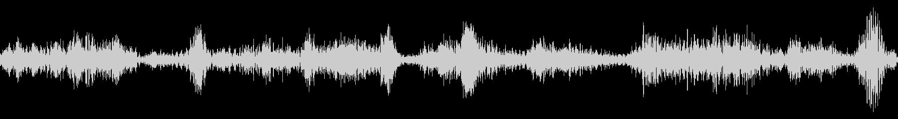 ラジオスキャンの調整1の未再生の波形