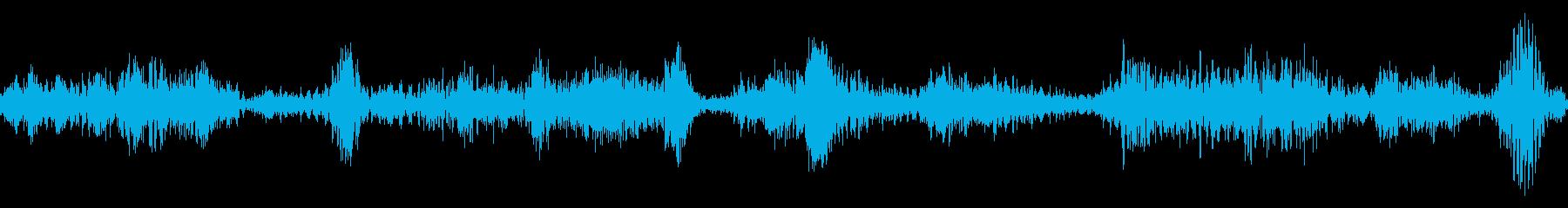 ラジオスキャンの調整1の再生済みの波形