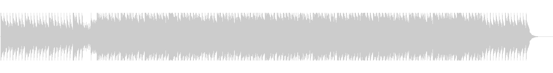 Positive and refreshing piano company VP ④'s unreproduced waveform