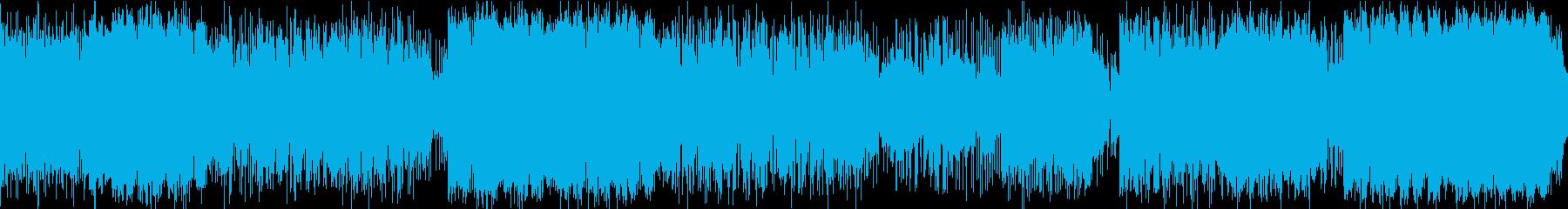 [ループ仕様]女性voエキゾチックビートの再生済みの波形